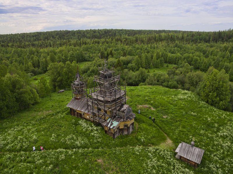 Экскурсия Куртяево: в жерле древнего вулкана