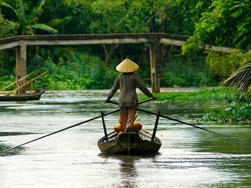 Экскурсия Настоящий Вьетнам в дельте реки Меконг