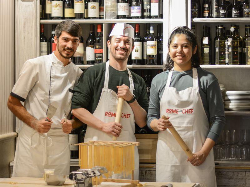 Экскурсия Мастер-класс: готовим пасту иджелато, как римляне!