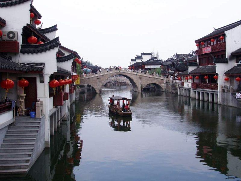 Экскурсия Чжуцзяцзяо — шанхайская Венеция