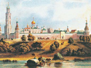 Симонов монастырь: грозный сторож Москвы