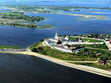 Остров-град Свияжск и Раифский Богородицкий монастырь