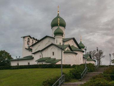 Город-храм Псков: шедевры церковного зодчества