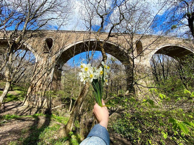 Экскурсия Хайкинг наНемецкий мост