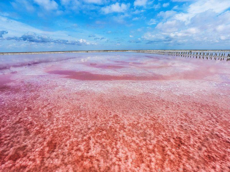 Экскурсия Из Алушты в Евпаторию: Розовое озеро и Малый Иерусалим