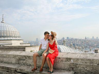 Стамбул с высоты: захватывающая фотопрогулка