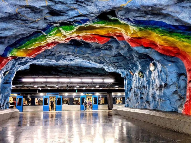 Экскурсия Мир подземного Стокгольма