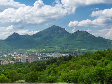 Бештау, Медовая, Развалка: горный треугольник Железноводска