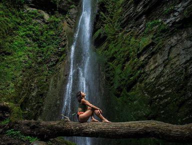 Фотопоход к таинственному водопаду Хрустальный