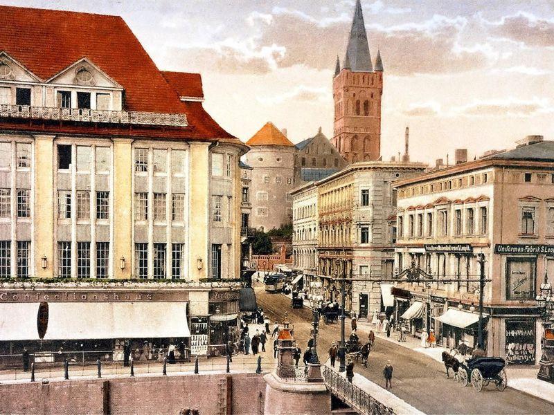 Экскурсия Старый Кёнигсберг— самое интересное всердце города