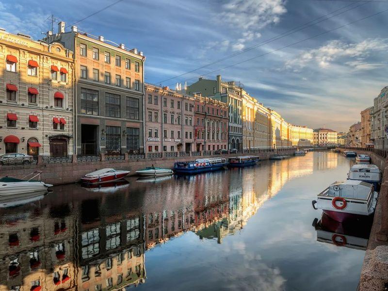 Экскурсия Ежедневная прогулка по Петербургу