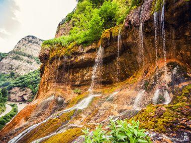 Симфония Чегемских водопадов