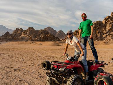 Пустынное сафари наверблюдах иквадроциклах