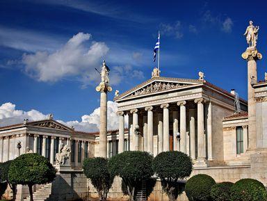 Королевские Афины 19века: обзорная экскурсия