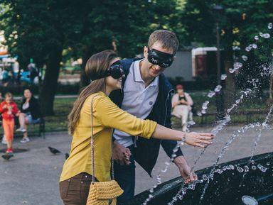 Погороду вслепую: прогулка-свидание