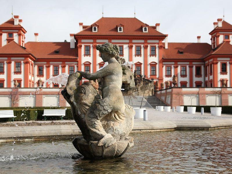 Экскурсия Изысканная Прага: замок Троя