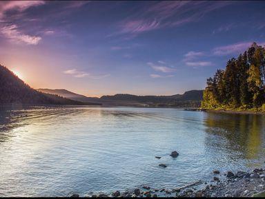 Прогулка по Телецкому озеру на катере