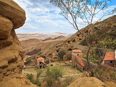 Фотопрогулка в Давид Гареджи. Пустыня и древние монастыри