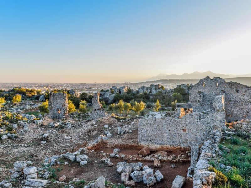 Экскурсия Из Антальи — в древний город Лирботон Коме!