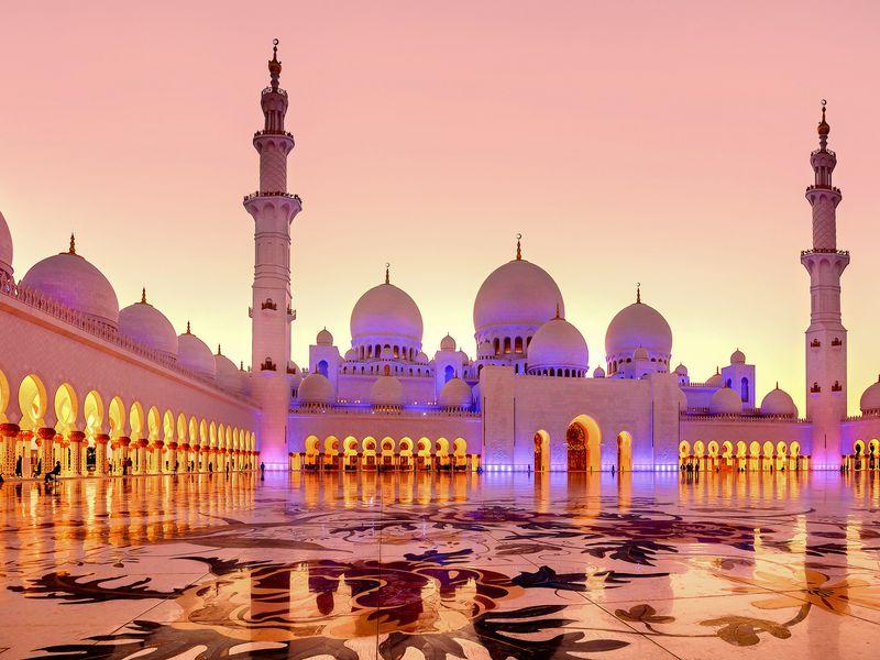 Экскурсия Магия вечернего Абу-Даби