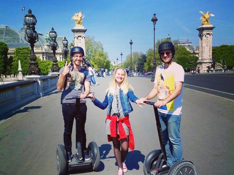 Экскурсия Прогулка по Парижу на Segway