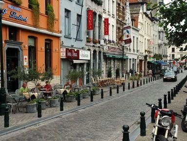Ежедневная прогулка по Брюсселю