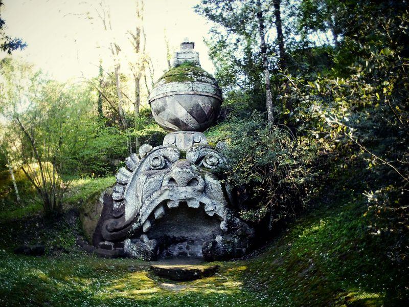 Экскурсия Бомарцо — парк монстров