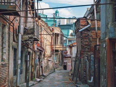 Тбилиси – прогулка по Старому городу