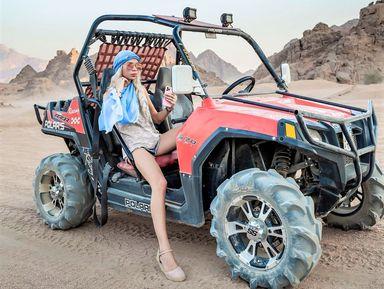 Катание на багги по пустыне!