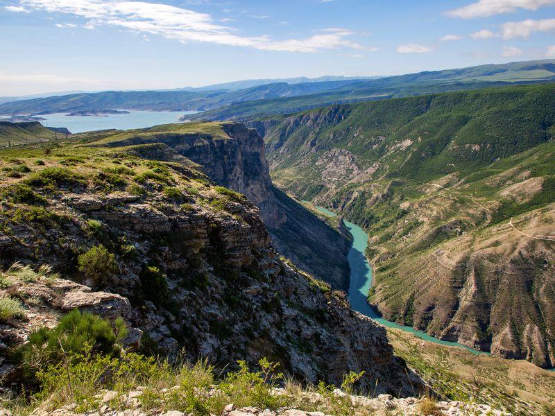Экскурсия Джип-тур к Сулакскому каньону