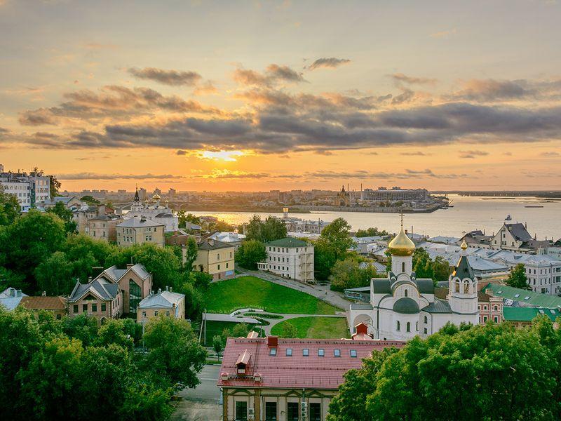 Экскурсия Нижний Новгород сквозь века