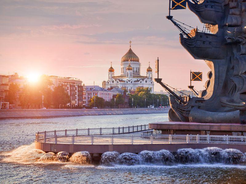 Экскурсия Теплоходная прогулка по Москве-реке с завтраком