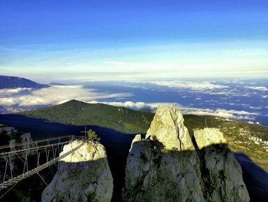 Пешком на Ай-Петри — восхождение на 1234 метра!