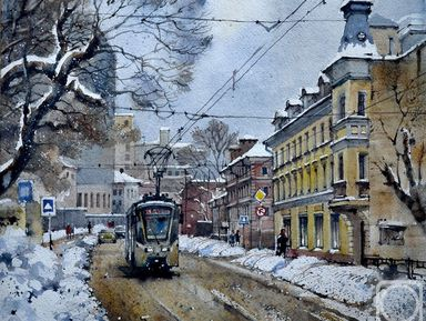Историческая мозаика Бауманской улицы