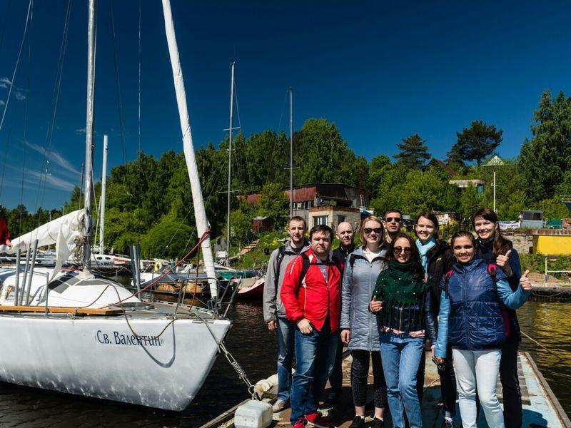 Экскурсия По «Камскому морю» на яхте!