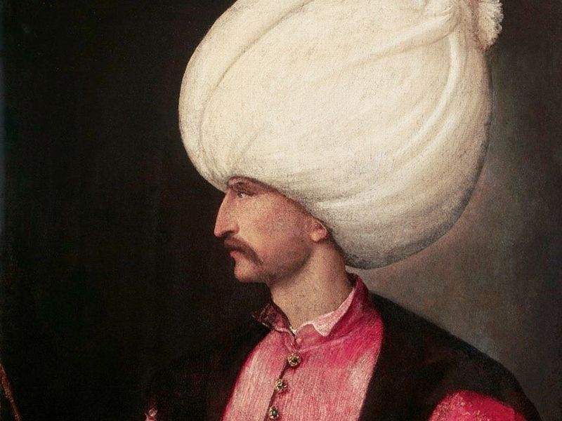 Экскурсия Последам Султана Сулеймана