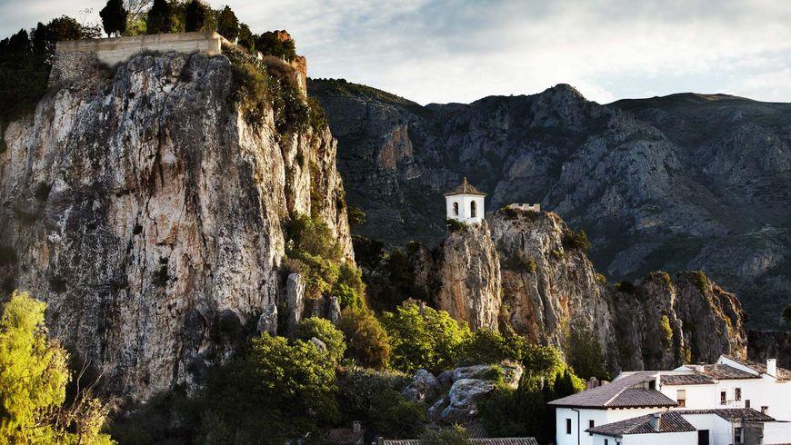 Город-крепость Гвадалест