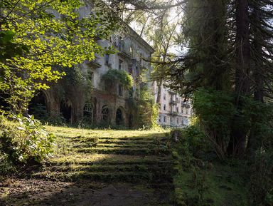 Город-призрак иприрода Абхазии