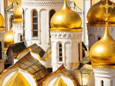 Московский Кремль снаружи и внутри
