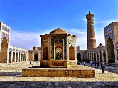 Сокровища Бухары, жемчужины Средней Азии