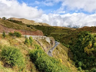 Путешествие по Военно-Грузинской дороге