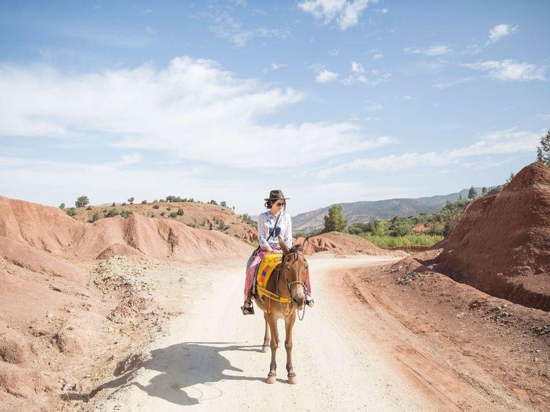 Экскурсия Из Марракеша в Атласские горы и деревню берберов