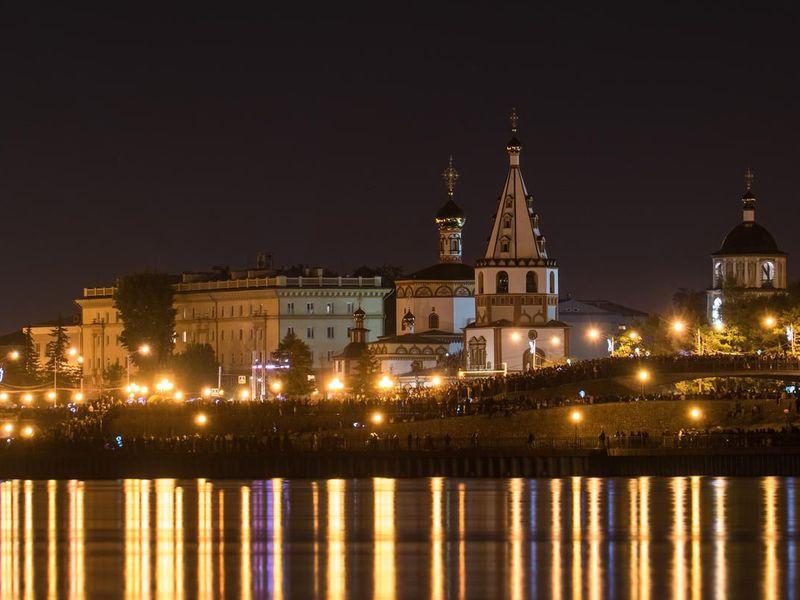 Экскурсия Ночной Иркутск на автомобиле