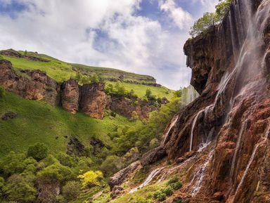Плато Канжол, озера Шадхурей иводопад Гедмишх — изПятигорска