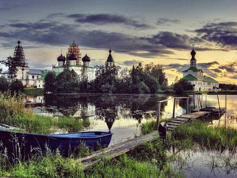 Экскурсия ИзАрхангельска вАнтониево-Сийский монастырь