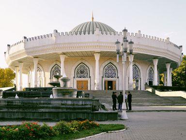 Все краски Ташкента