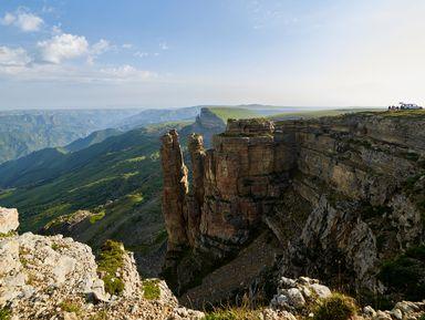 Плато Бермамыт и водопады Гришкиной балки