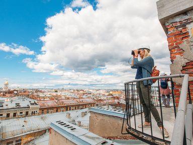 Безопасная прогулка по петербургской крыше