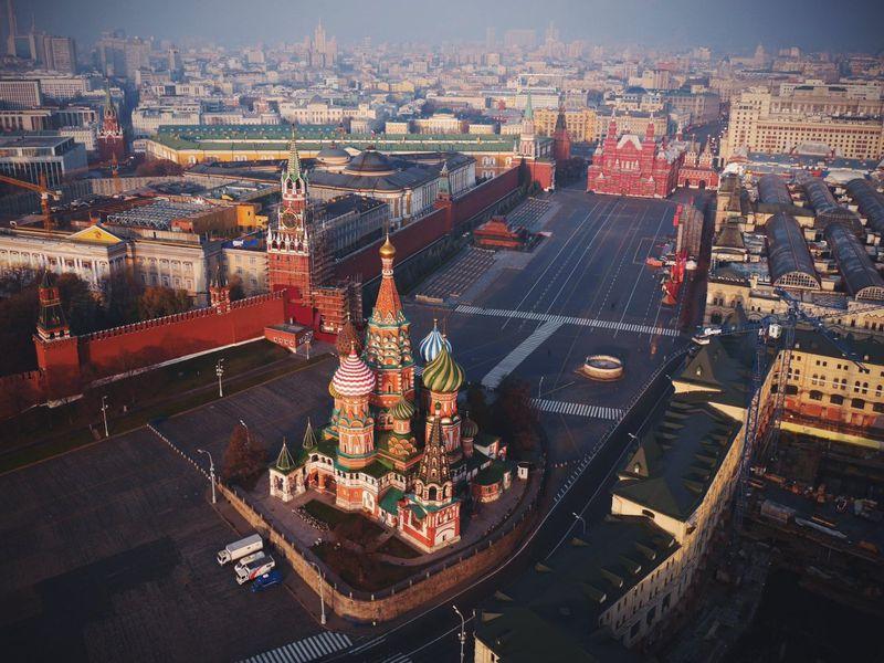 Экскурсия Незабываемая Москва! Обзорная по столице