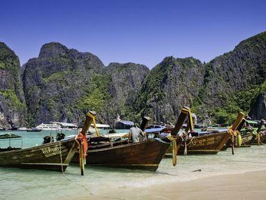 Путешествие к островам Пода, Хаи, Таб и Рейли